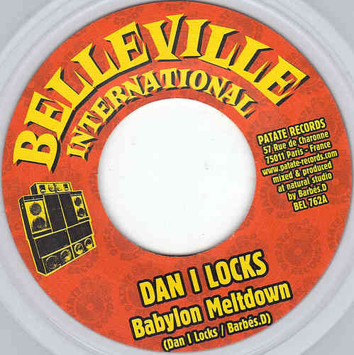 DAN I LOCKS babylon meltdown / BARBES D dub
