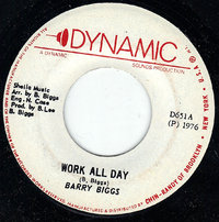 BARRY BIGGS work all day / version