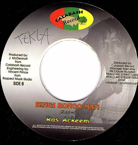RAS ACKEEM bingi bongo man / version