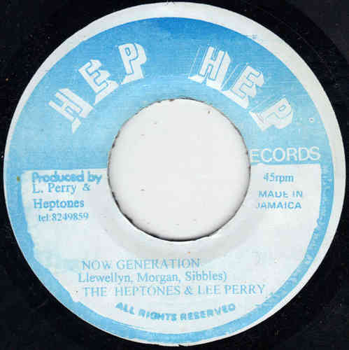 THE HEPTONES now generation / UNKNOWN dj style