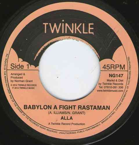 ALLA babylon a fight rastaman / version