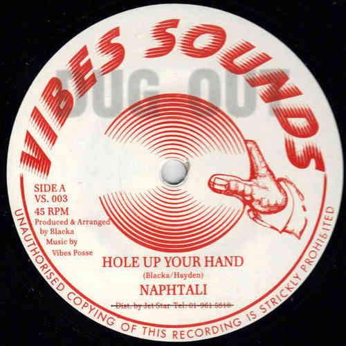 NAPHTALI hole up your hand / version