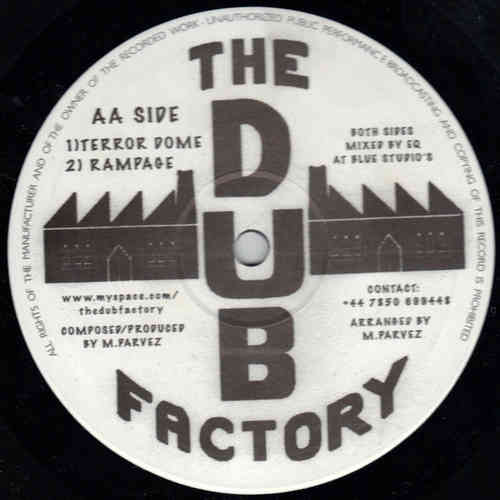 PARVEZ africa - version / DUB FACTORY terror dome - rampage