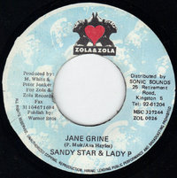 SANDY STAR & LADY P  jane grine / version