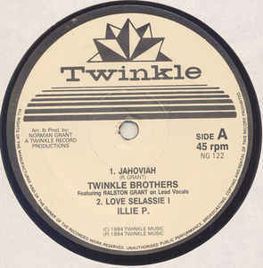 TWINKLE BROTHERS jahoviah - ILIE P love sellassie i / dub version