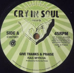 RAS MYKHA give thanks & praise / ROOTS ISTA POSSE fisherman stepper