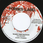 ALRIC FORBES warn the nation / dub