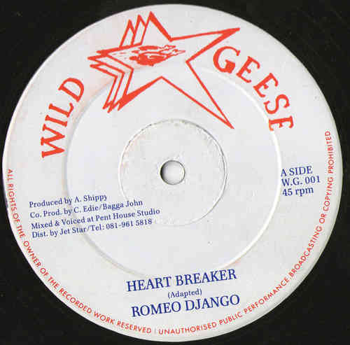 ROMEO DJANGO heart breaker / LITTLE HARRY shocking body - version