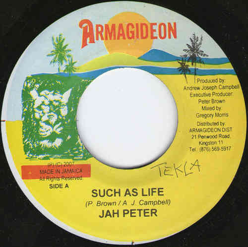 JAH PETER such as life / version