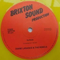 DIANE LARANCE & THE REBELS no body - dub / have a mery xmas