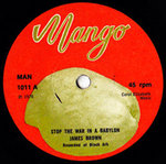 JAMES BROWN stop the war inna babylon / UPSETTER dub in peace