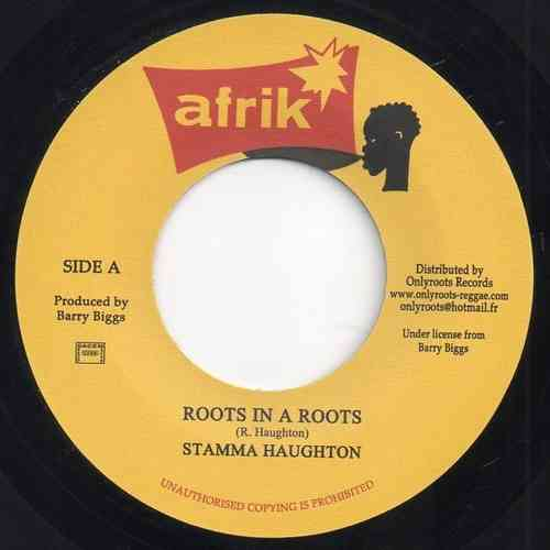 STAMMA HAUGHTON & THE CLUBITES  roots in a roots / roots version