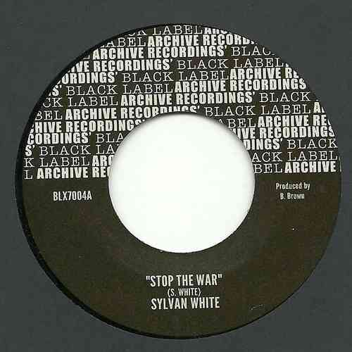 SYLVAN WHITE stop the war / SOUL SYNDICATE stop the war version