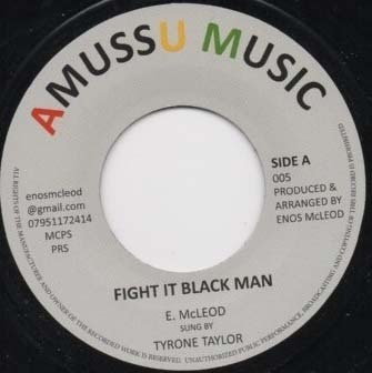 TYRONE TAYLOR fight it blackman / piano cut version