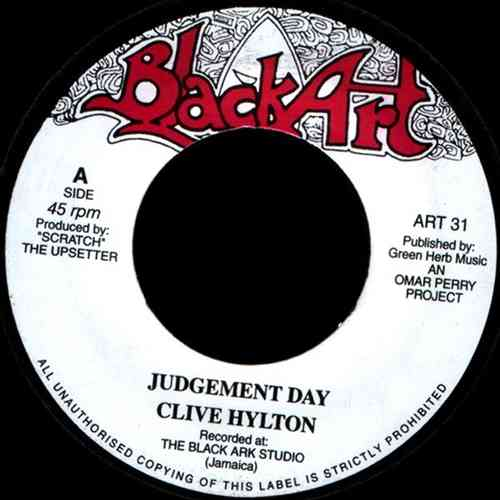 CLIVE HYLTON judgement day / UPSETTERS well judged dub