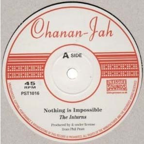 THE INTURNS nothing is impossible - dub  / detour - dub