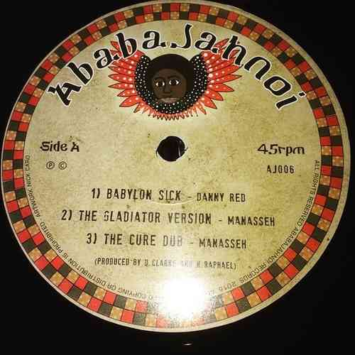 DANNY RED babylon sick - MANASSEH version - dub / jah is here - CHAZBO & JAH 93 never left - dub