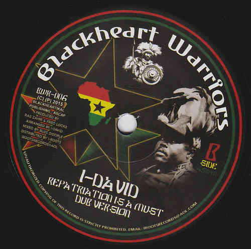 FRED LOCKS not only the black star liner / I DAVID repatriation is a must dub
