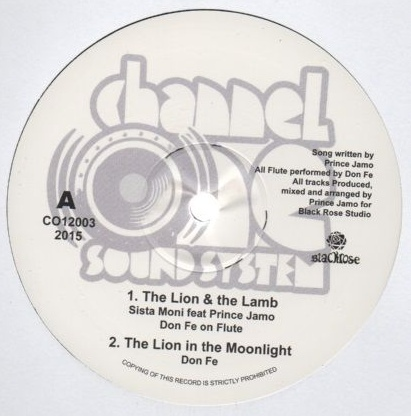 SISTA MONI feat PRINCE JAMO the lion & the lamb - DON FE the lion / dub - cry of the hoffin