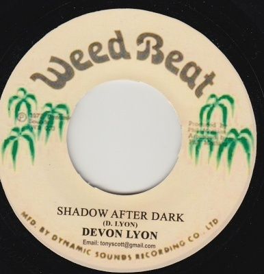 DEVON LYON shadow after dark  / saxs in dub