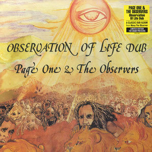 PAGE ONE & THE OBSERVERS observation of life dub LP