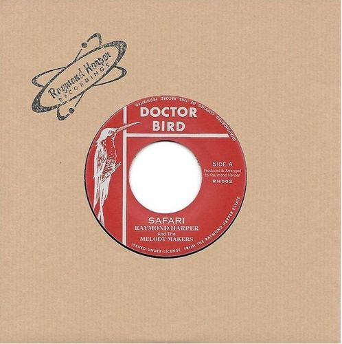 RAYMOND HARPER & MELODY MAKERS safari / RAYMOND HARPER & CARIBS BEATS amour