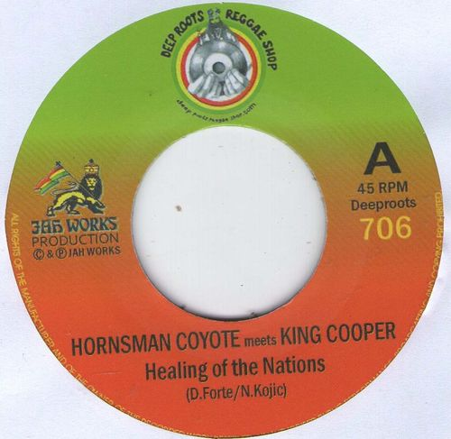HORNSMAN COYOTE & KING COOPER healing of the nation / JAH REJ healing dub