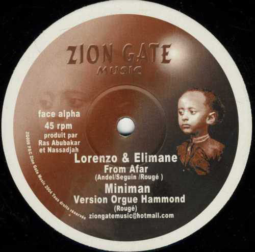 LORENZO & ELIMANE from afar - MINIMAN version orgue hammond / IFARI mother of the earth - riddim