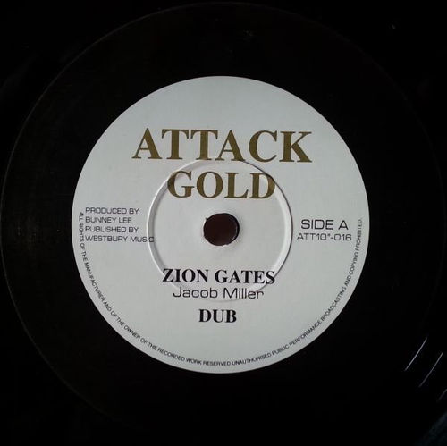 JOHNNY CLARKE enter his gate - KING TUBBY dub / JACOB MILLER zion gates - dub