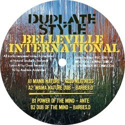 KOJO KEATNESS mama nature - BARBES D dub / ANTE power of the mind - BARBES D dub