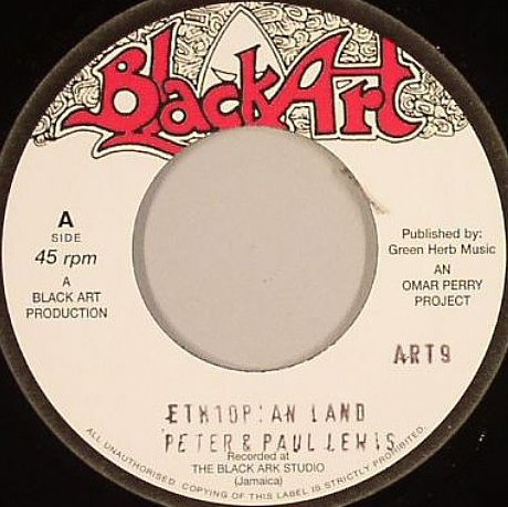 PETER & PAUL LEWIS ethiopia land / THE UPSETTERS dubland