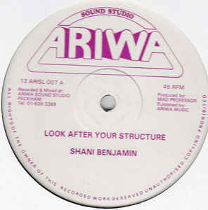 SHANI BENJAMIN look after your structure / SANE INMATES in fine style