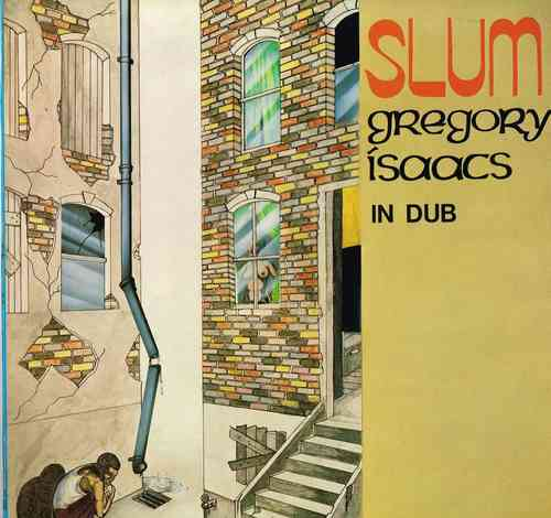 GREGORY ISAACS slum in dub LP