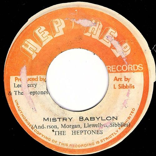 THE HEPTONES mistry babylon / HEP HEP ALL STARS version
