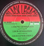 KEETY ROOTS young generation - dub - dub 2  / politician - ROOTSY REBEL jah judgment - dub