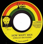 AFRICAN BROTHERS how many men / version