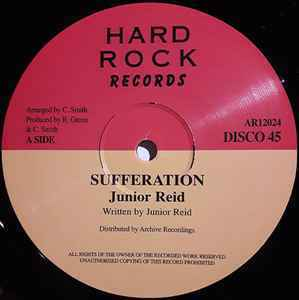 JUNIOR REID sufferation / KING TUBBY sufferation version