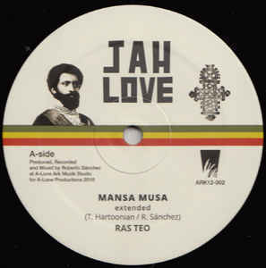 RAS TEO mansa lusa - dub / bad friday - dub