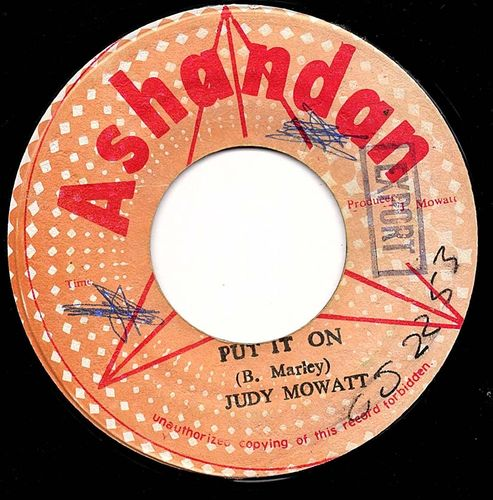 JUDY MOWATT put it on / put it jam