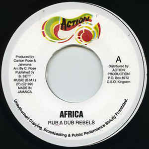 RUB A DUB REBELS africa / version
