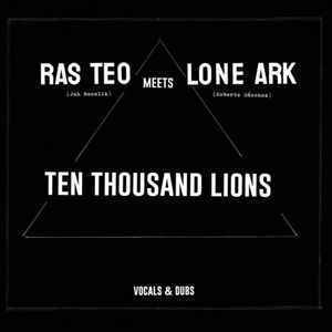 RAS TEO meets LONE ARK vocal & dub X 2 LP