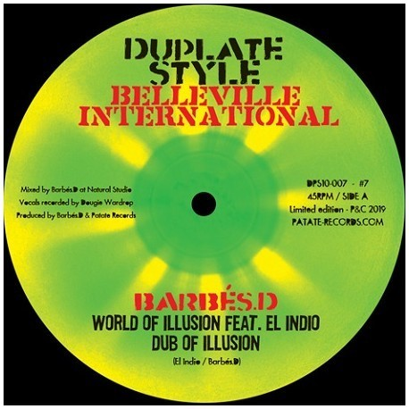 BARBES D & EL INDIO world of illusion - dub / BARBES D & FRED BURAM suffering planet horns - dub
