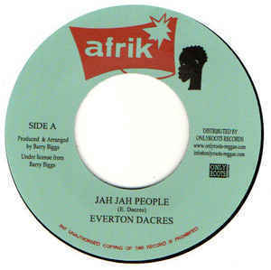 EVERTON DACRES jah jah people / STEROPHONIC jah people time