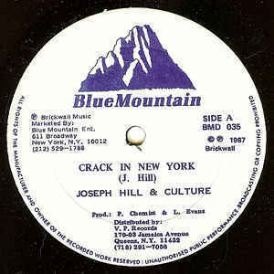 JOSEPH HILL & CULTURE crack in a new york - version / i'm worried - version