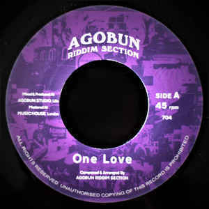 AGOBUN RIDDIM SECTION one love / dub love