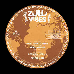 UK PRINCIPAL african country - african dub / YOUTHIE african horns - IFI binghiman
