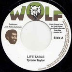 TYRONE TAYLOR life table / BLACK DISCIPLES turning