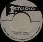 WINSTON FRANCIS fools fall in love / WINSTON & SOUND DEMENSION version