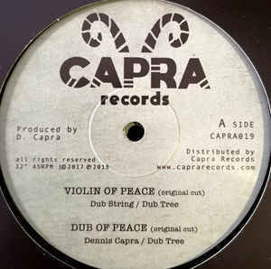 DUB STRINGS & DENNIS CAPRA & DUB THREE violin of dub / JOBBA everyday i hear - dubplate cut
