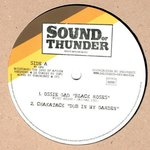 OSSIE GAD black roses - CHAKATAK dub in my garden / OSSIE GAD drifter - LIGHTING HORNS  version